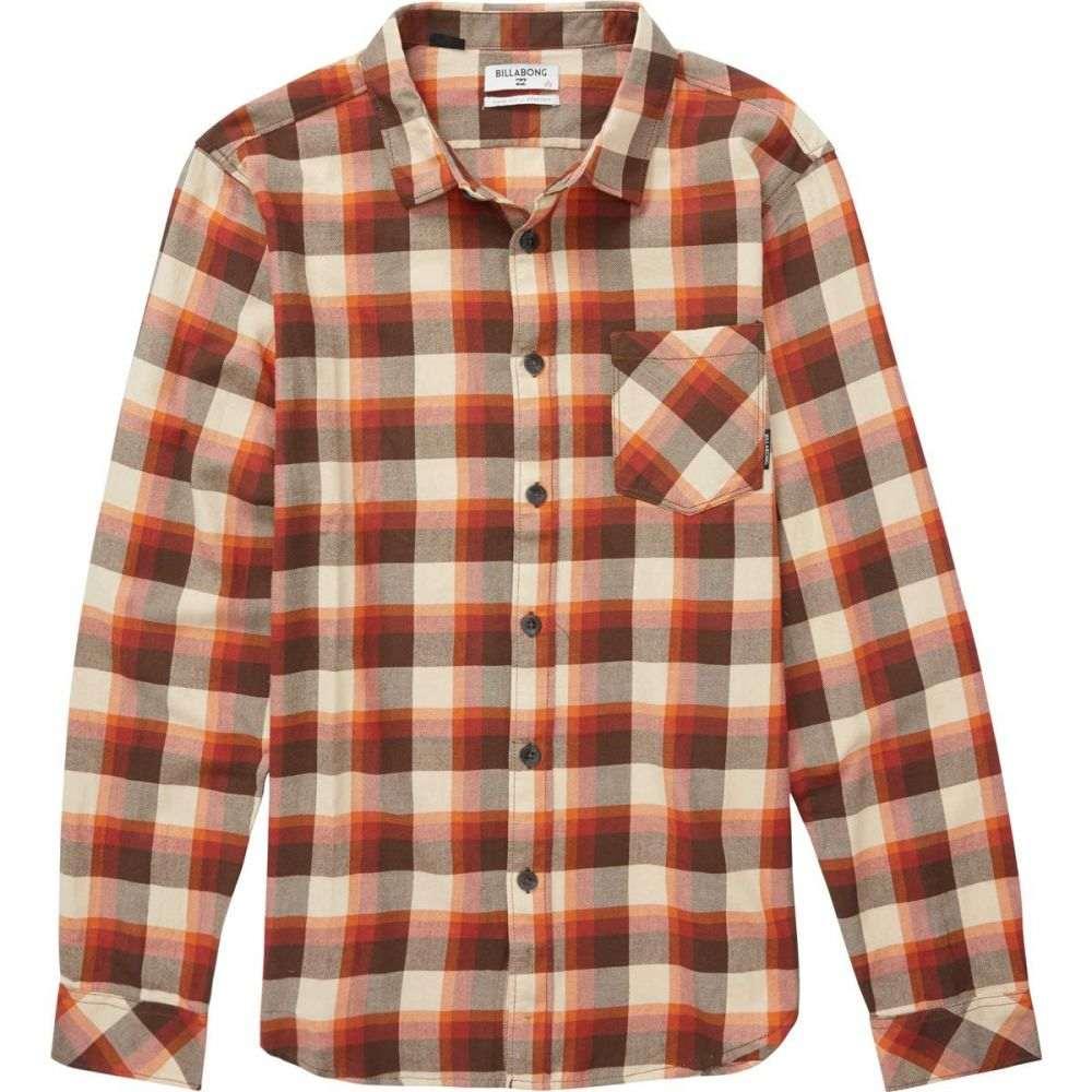 6defb4d70971 ビラボン メンズ シャツ【Freemont Flannels】Rust Brown トップス-ワイシャツ