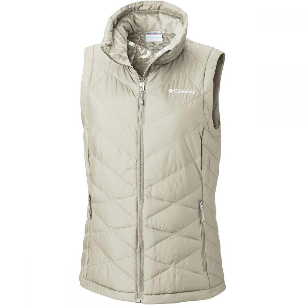 コロンビア レディース トップス ベスト・ジレ【Heavenly Vest】Light Bisque