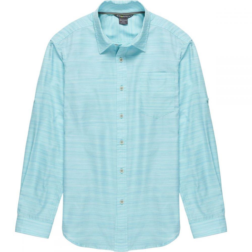 エクスオフィシオ メンズ トップス シャツ【Soft Cool Avalon Long - Sleeve Shirts】Poolside
