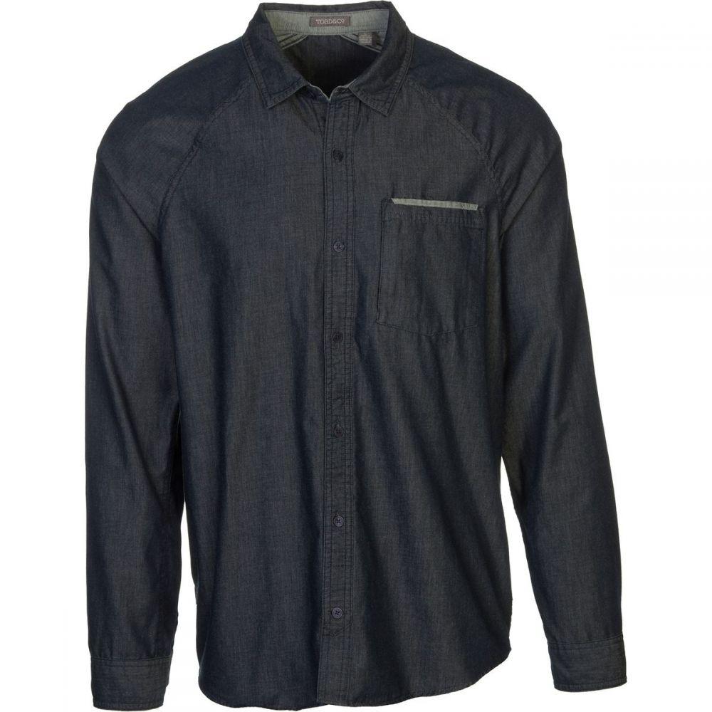 トードアンドコー メンズ トップス シャツ【Yonder Shirt - Long - Sleeves】Nightsky