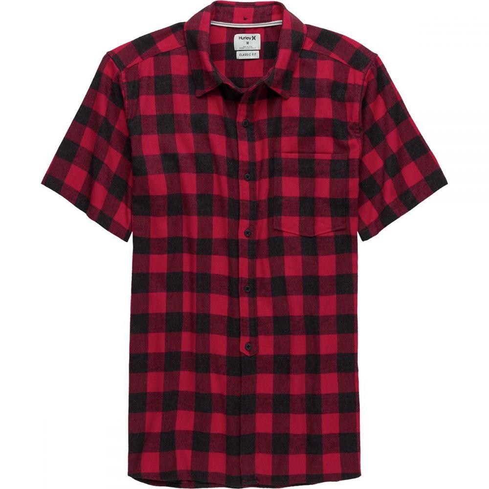 ハーレー メンズ トップス 半袖シャツ【Bison Woven Short - Sleeve Tops】Gym Red Heather