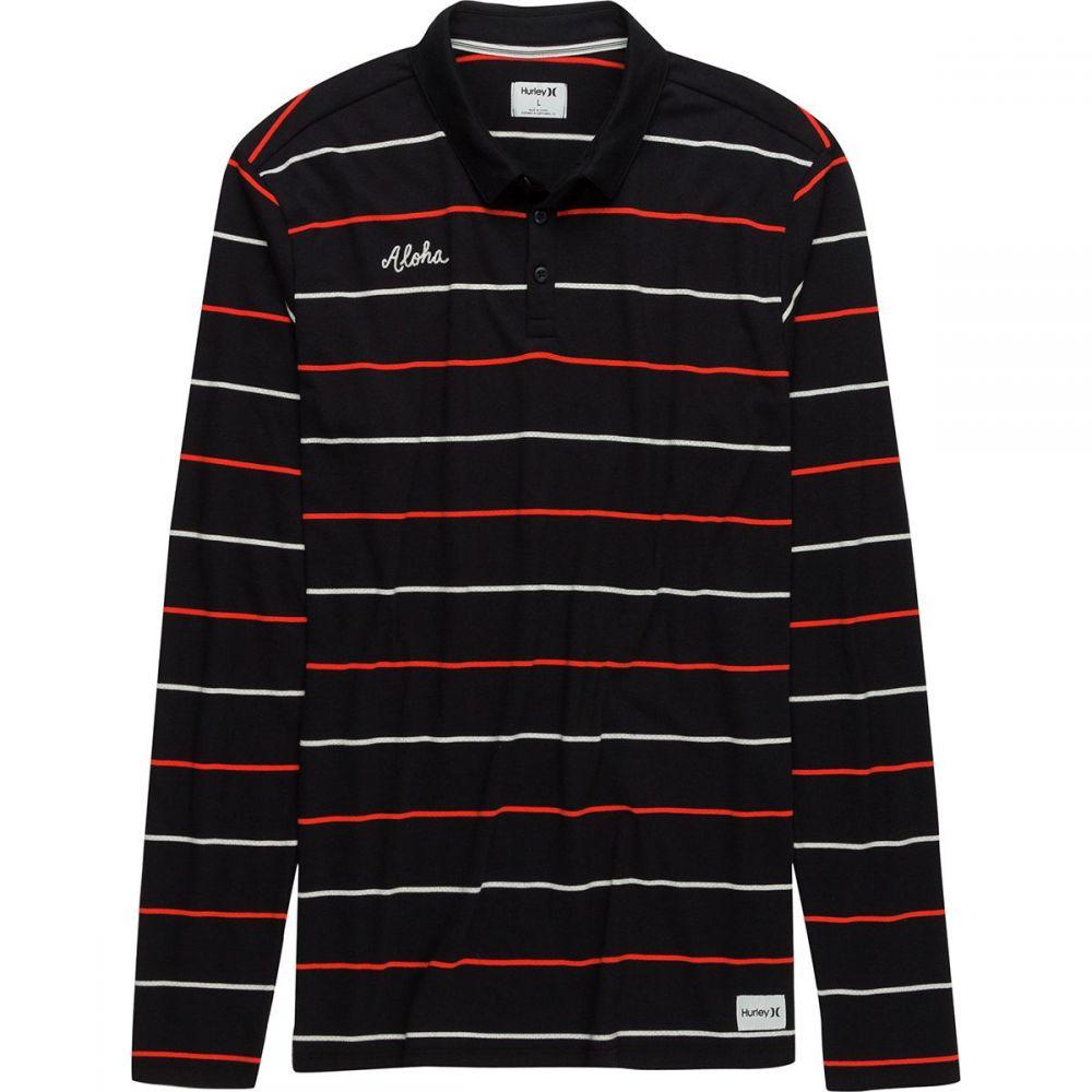 ハーレー メンズ トップス ポロシャツ【Channels Long - Sleeve Polos】Black