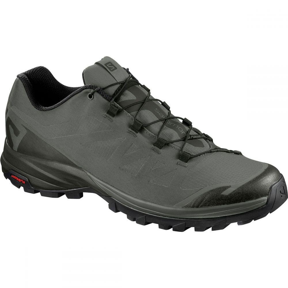 サロモン メンズ ハイキング・登山 シューズ・靴【Outpath Hiking Shoes】Beluga/Castor Gray/Black