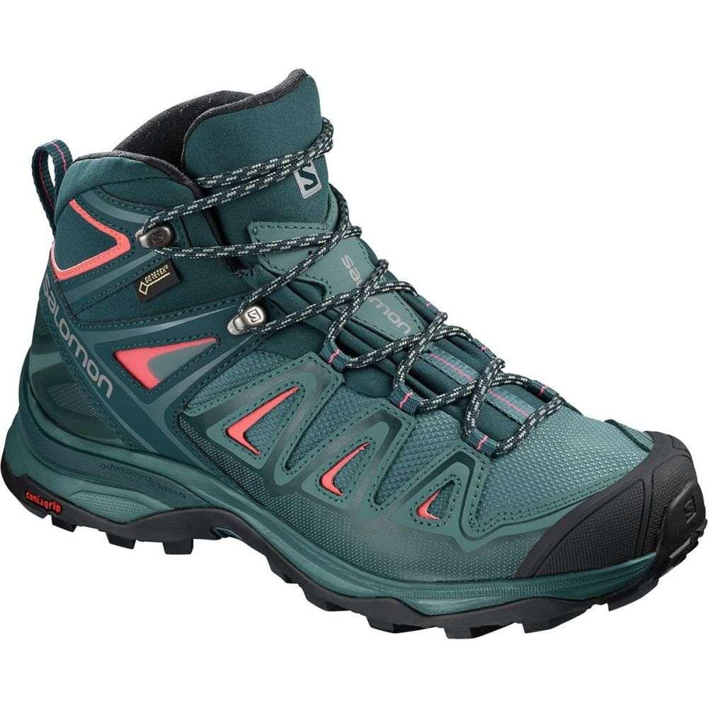 サロモン レディース ハイキング・登山 シューズ・靴【X Ultra Mid 3 GTX Hiking Boot】Hydro/Reflecting Pond/Dubarry