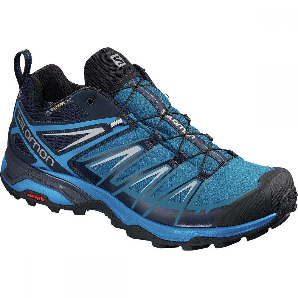 サロモン メンズ ハイキング・登山 シューズ・靴【X Ultra 3 GTX Hiking Shoes】Mykonos Blue/Indigo Bunting/Pearl Blue