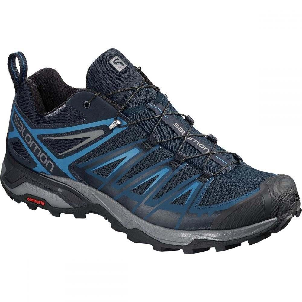 玄関先迄納品 サロモン メンズ メンズ ハイキング サロモン・登山 シューズ・靴【X Ultra 3 3 Hiking Shoes】Poseidon/Indigo Bunting/Quiet Shade, LIFE COLLEZIONE:a1d819e5 --- supercanaltv.zonalivresh.dominiotemporario.com