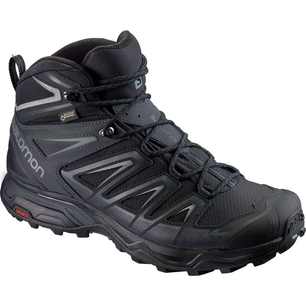 サロモン メンズ ハイキング・登山 シューズ・靴【X Ultra 3 Mid GTX Hiking Boot - Wides】Black/India Ink/Monument