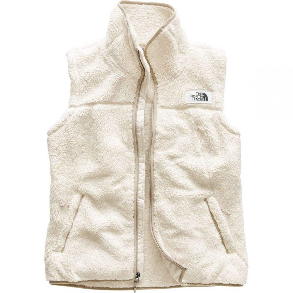 ザ ノースフェイス レディース トップス ベスト・ジレ【Campshire Fleece Vest】Vintage White/Dune Beige