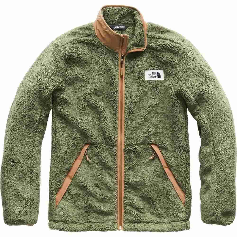 ザ ノースフェイス メンズ トップス フリース【Campshire Fleece Jackets】Four Leaf Clover/Cargo Khaki