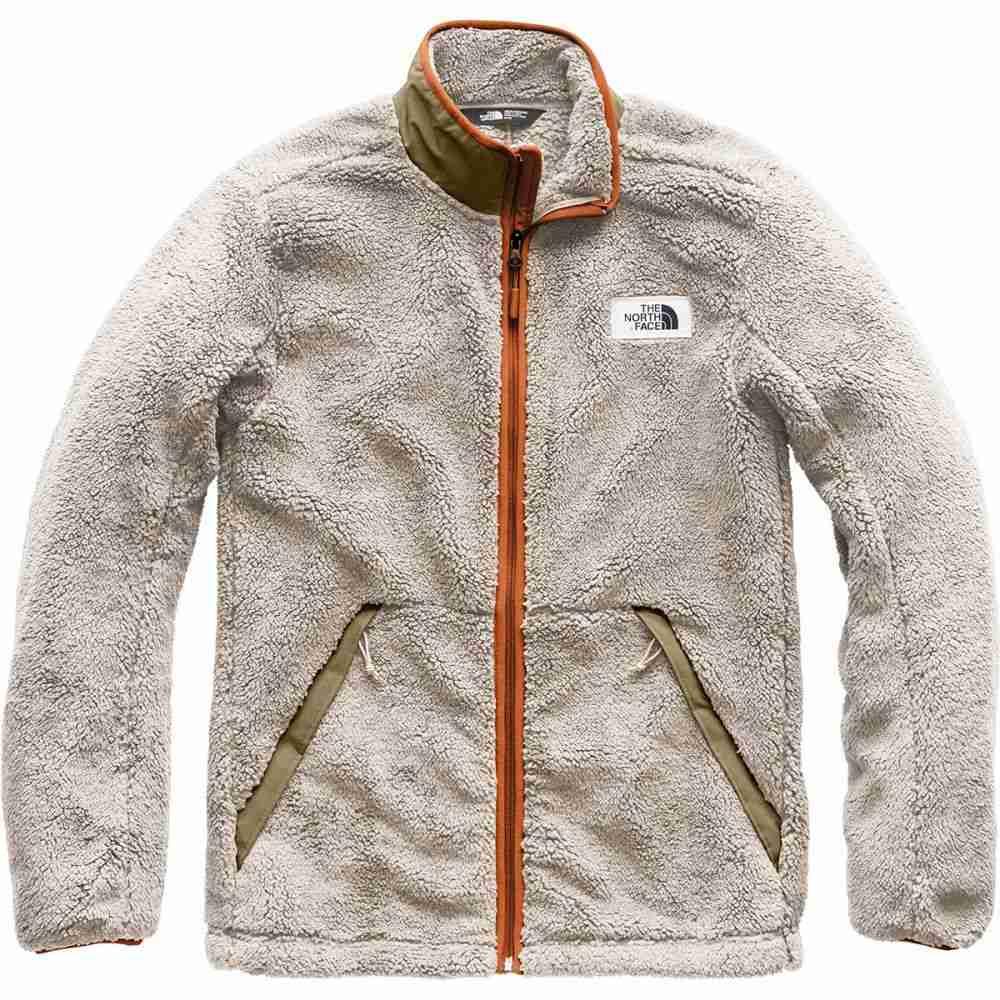 ザ ノースフェイス メンズ トップス フリース【Campshire Fleece Jackets】Granite Bluff Tan/Beech Green