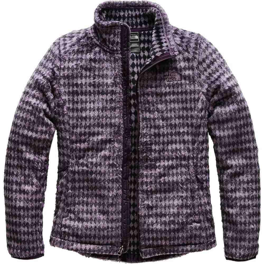 ザ ノースフェイス レディース トップス フリース【Novelty Osito Jacket】Galaxy Purple Heather Diamond Osito Print