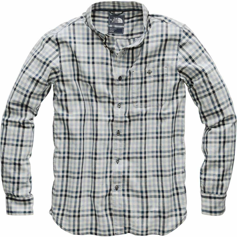 ザ ノースフェイス メンズ トップス シャツ【Hayden Pass 2.0 Long - Sleeve Shirts】Urban Navy Glen Plaid