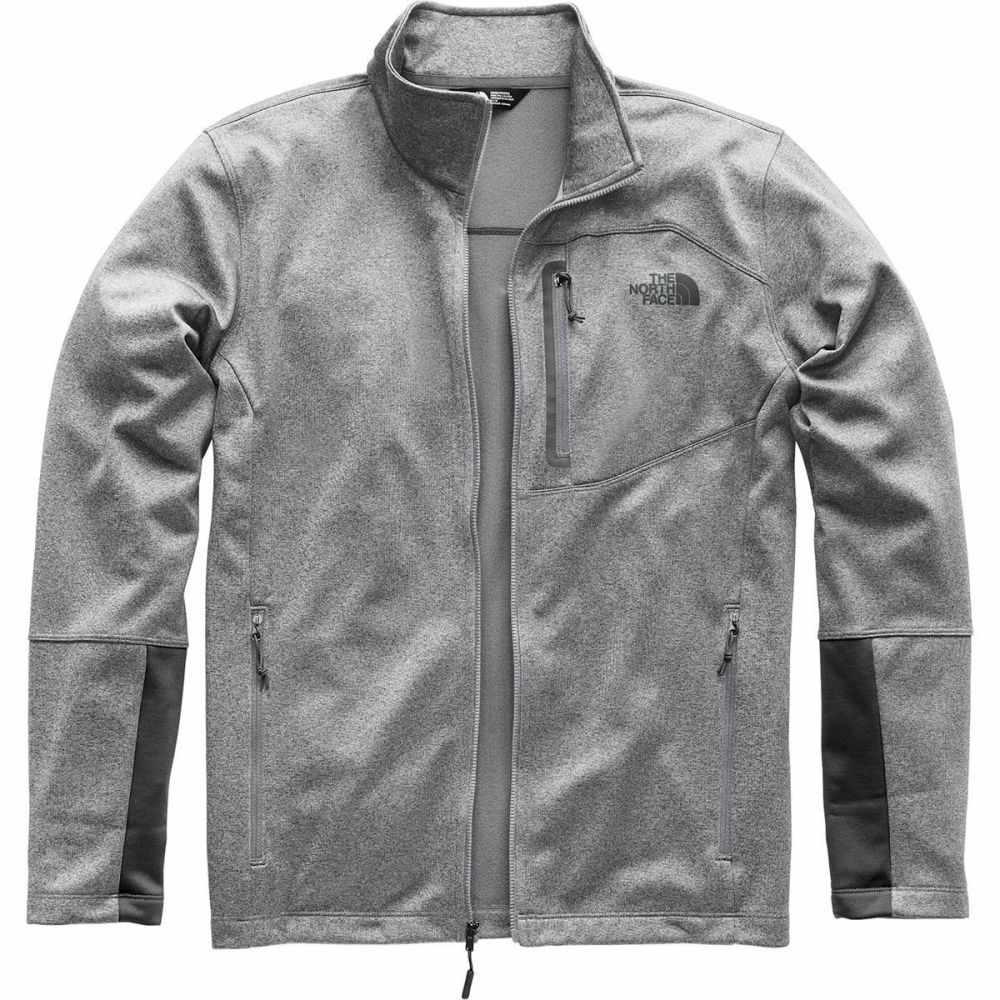 ザ ノースフェイス メンズ トップス フリース【Canyonlands Fleece Jackets】Tnf Medium Grey Heather