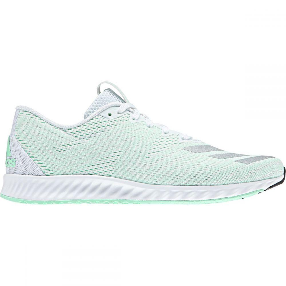 アディダス レディース ランニング・ウォーキング シューズ・靴【Aerobounce PR Shoe】Ftwr White/Silver Met/Clear Mint