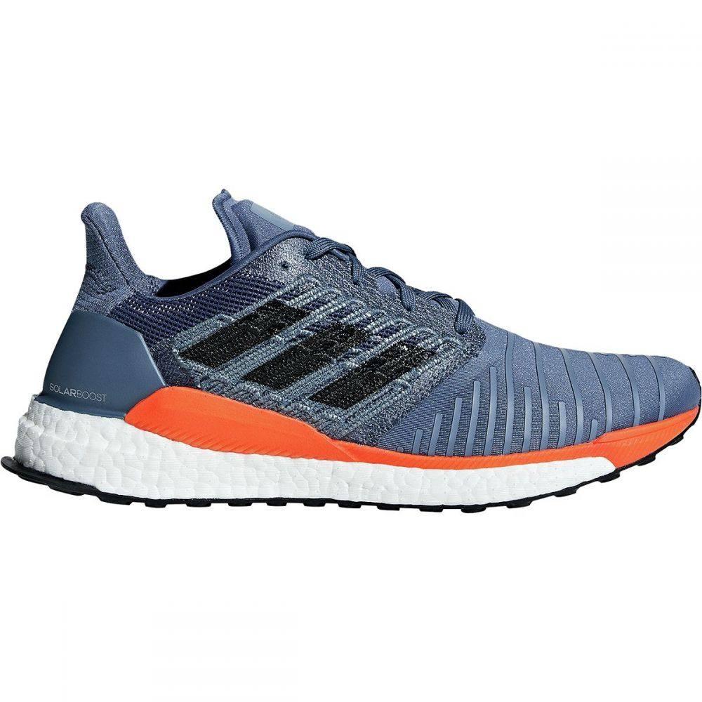 アディダス メンズ ランニング・ウォーキング シューズ・靴【Solar Boost Running Shoes】Tech Ink/Grey Two F17/Hi-res Orange S18