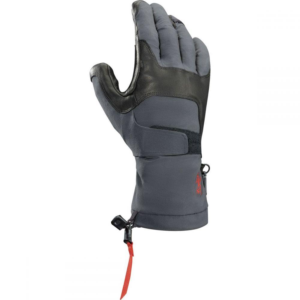 アークテリクス レディース 手袋・グローブ【Alpha FL Glove】Graphite/Cardinal