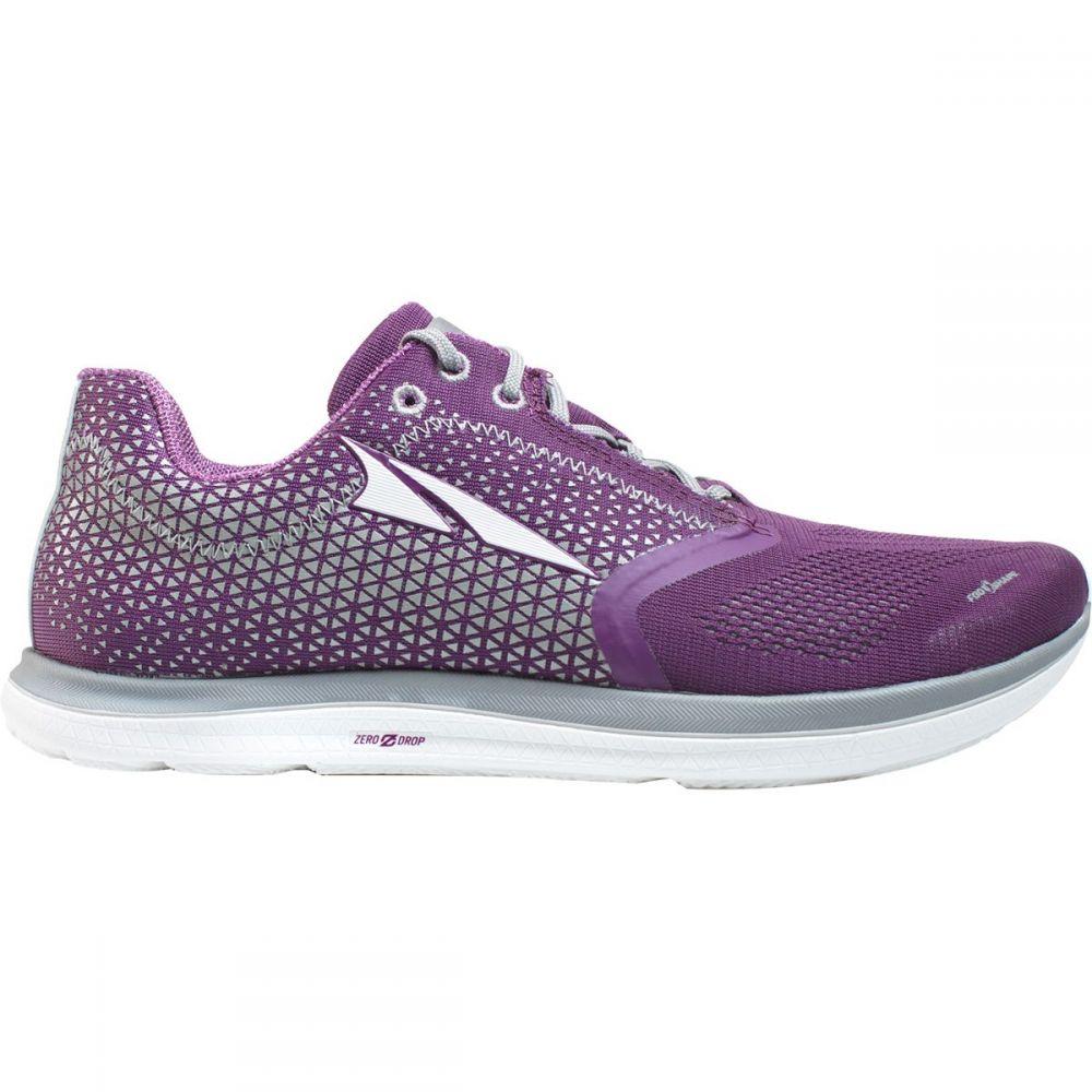 アルトラ レディース ランニング・ウォーキング シューズ・靴【Solstice Running Shoe】Purple