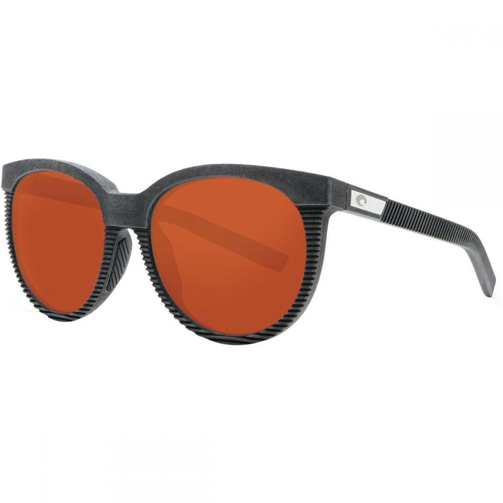 コスタ レディース スポーツサングラス【Victoria Polarized 580G Sunglasses】Net Gray/Black Rubber/Copper