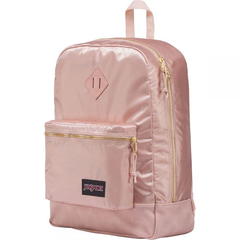 ジャンスポーツ レディース バッグ バックパック・リュック【Super FX 25L Backpack】Rose Smoke Gold