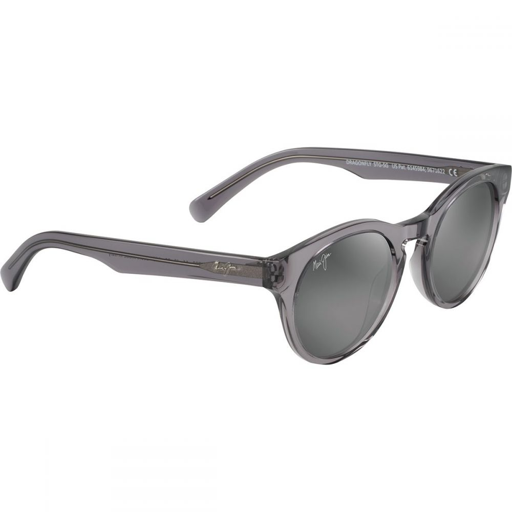 マウイジム レディース スポーツサングラス【Dragonfly Polarized Sunglasses】Neutral Grey/Translucent Grey