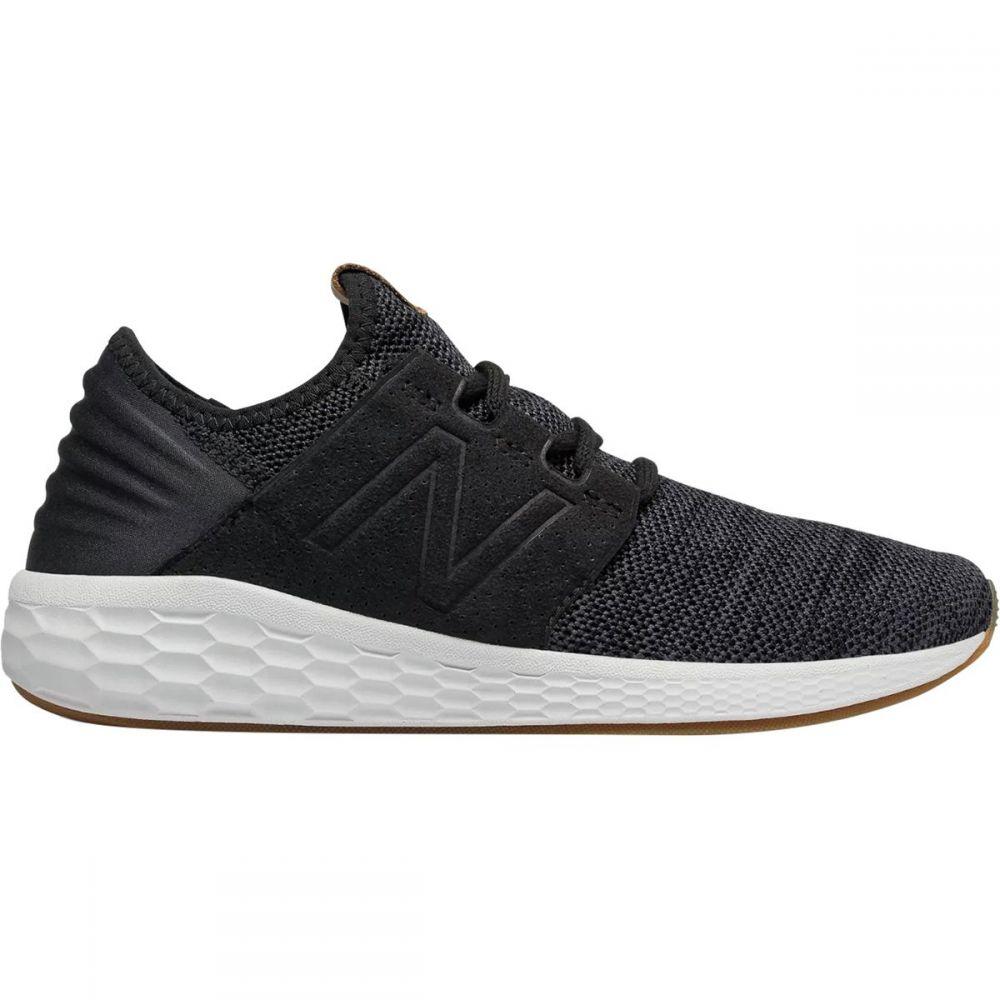 ニューバランス レディース ランニング・ウォーキング シューズ・靴【Fresh Foam Cruz v2 Knit Running Shoe】Black/Magnet/White Munsell