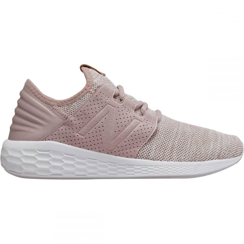 ニューバランス レディース ランニング・ウォーキング シューズ・靴【Fresh Foam Cruz v2 Knit Running Shoe】Charm/White