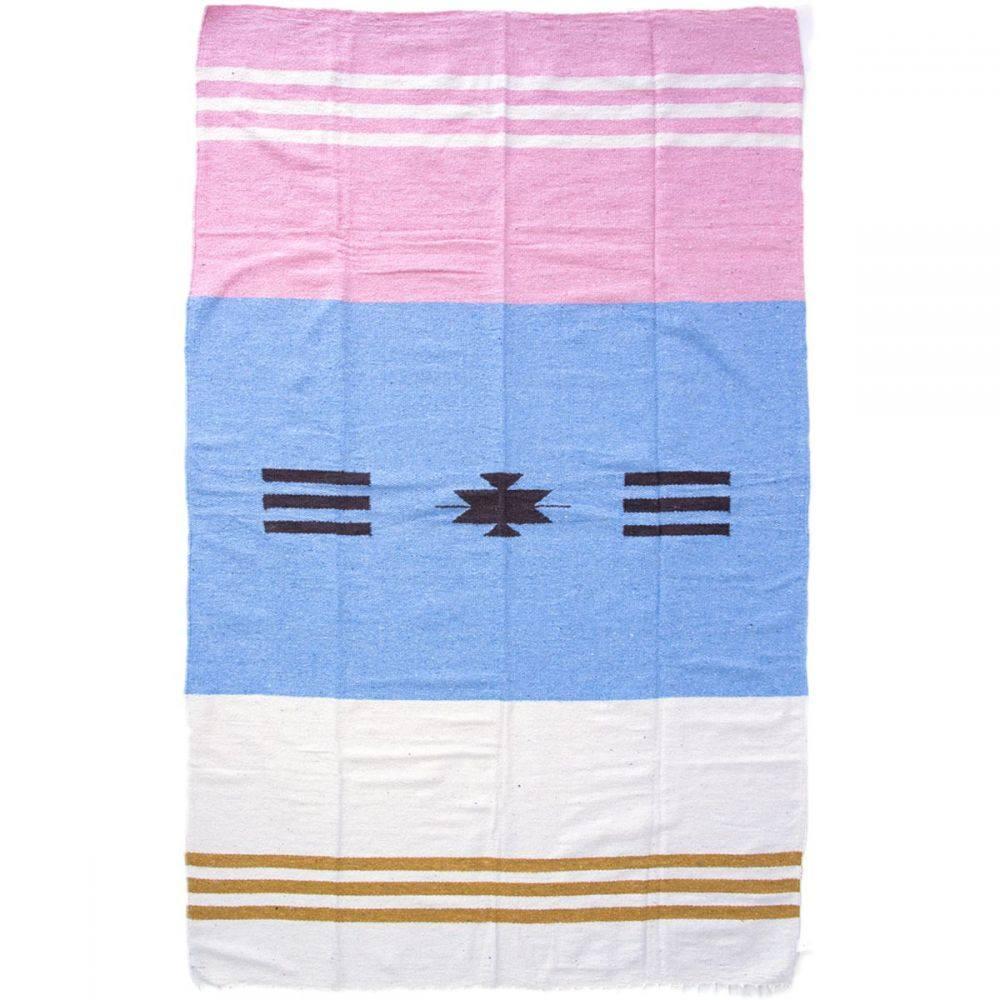 ニポモ レディース 雑貨【Horizonte Blanket】Brisa