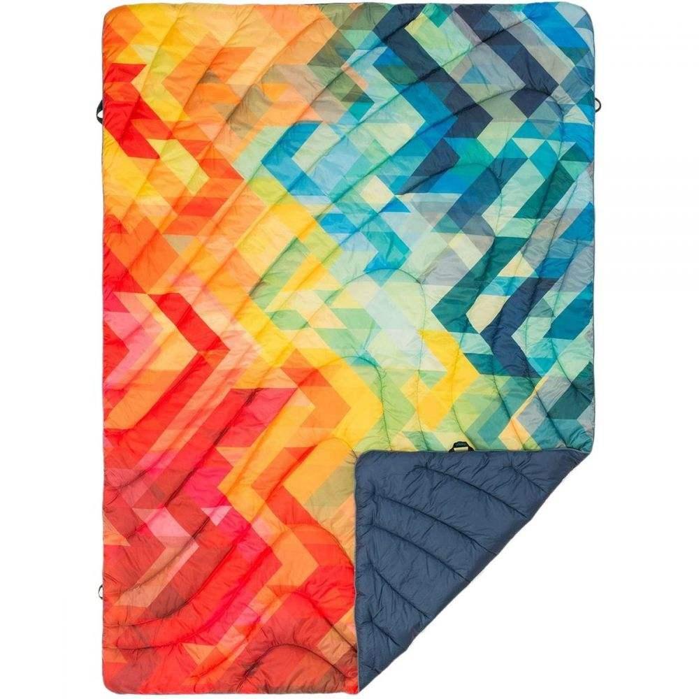 ルンプル レディース 雑貨【The Original Puffy Print Throw Blanket】Geo Print
