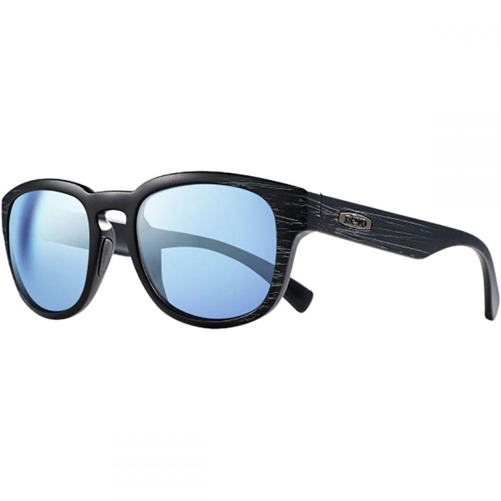 レヴォ レディース メガネ・サングラス【Zinger Polarized Sunglasses】Matte Black Scratch/Blue Water