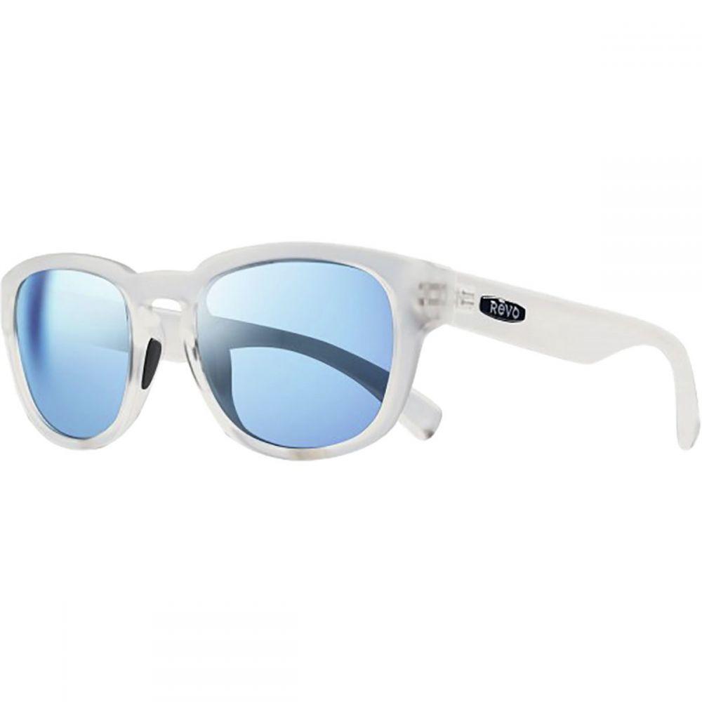 レヴォ レディース メガネ・サングラス【Zinger Polarized Sunglasses】Matte Crystal /Blue Water