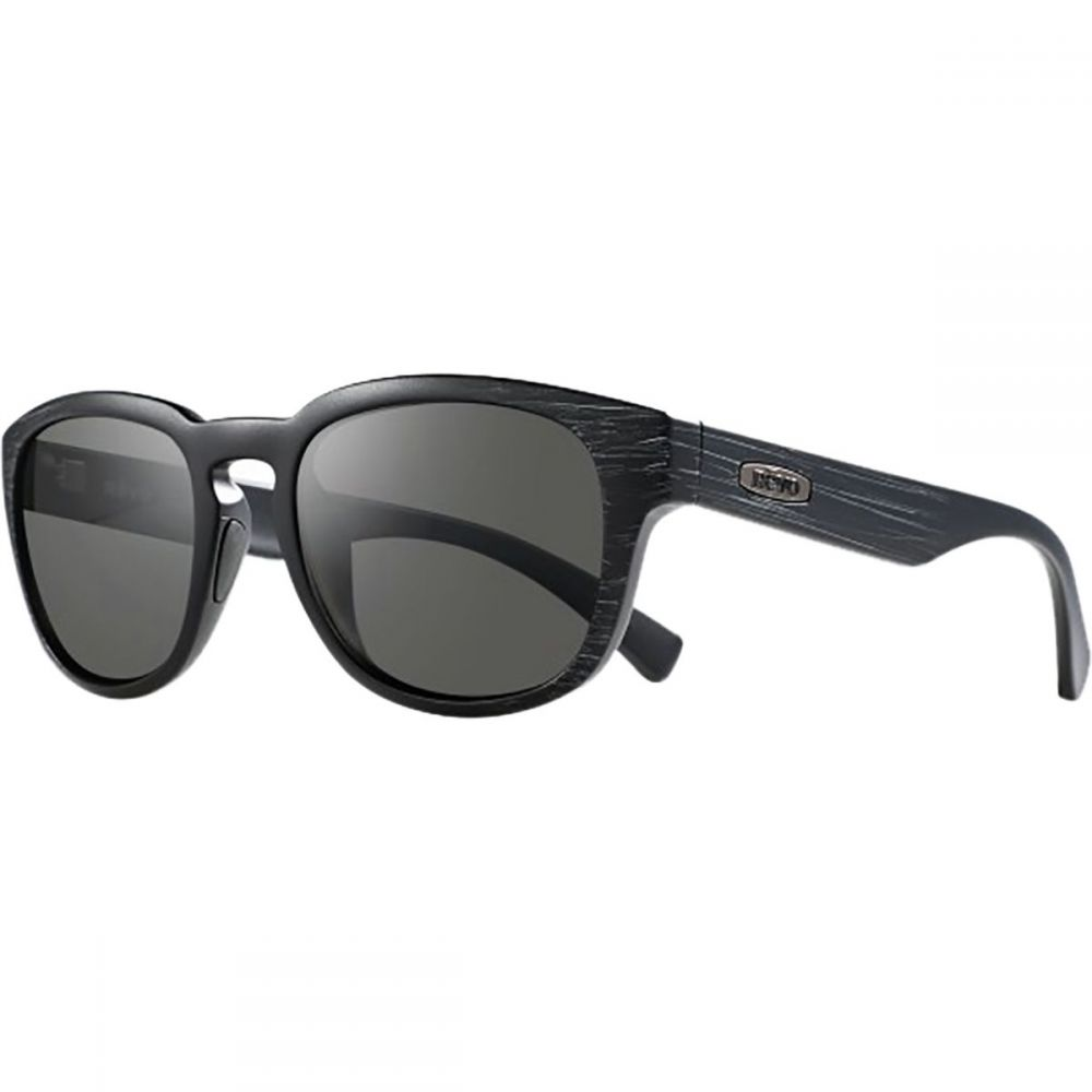 レヴォ レディース メガネ・サングラス【Zinger Polarized Sunglasses】Matte Black Scratch/Graphite