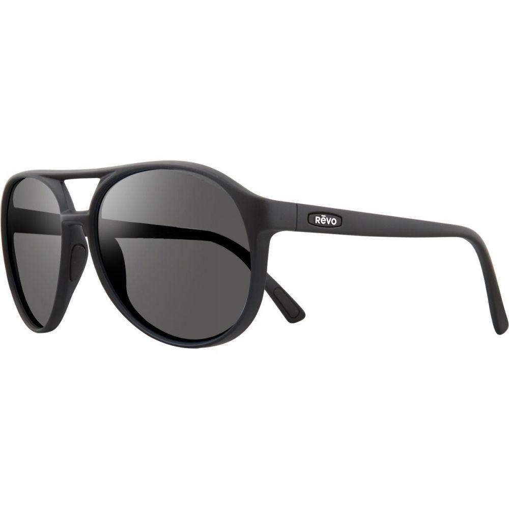 レヴォ レディース メガネ・サングラス【Marx Polarized Sunglasses】Black/Graphite