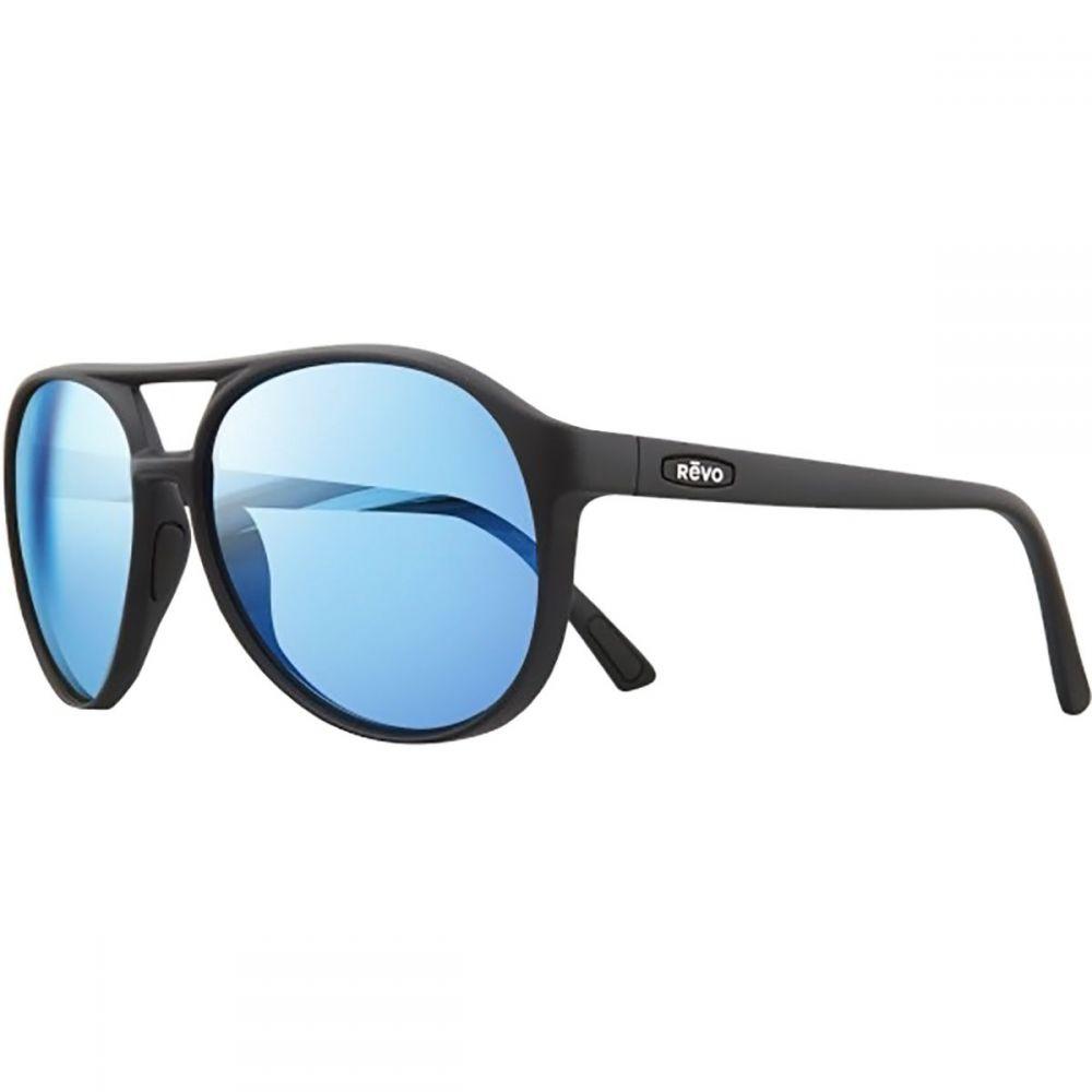 レヴォ レディース メガネ・サングラス【Marx Polarized Sunglasses】Black/Blue Water