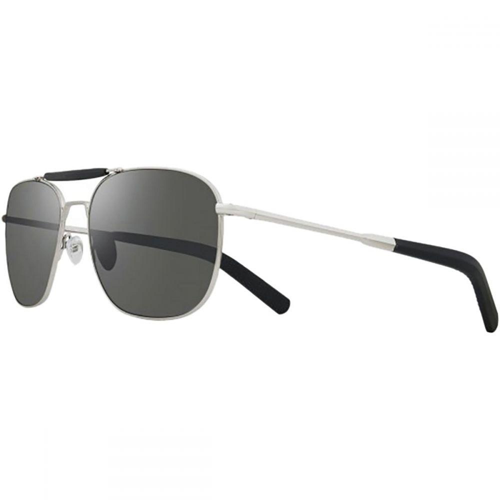 レヴォ レディース メガネ・サングラス【Pierson Polarized Sunglasses】Chrome/Graphtie