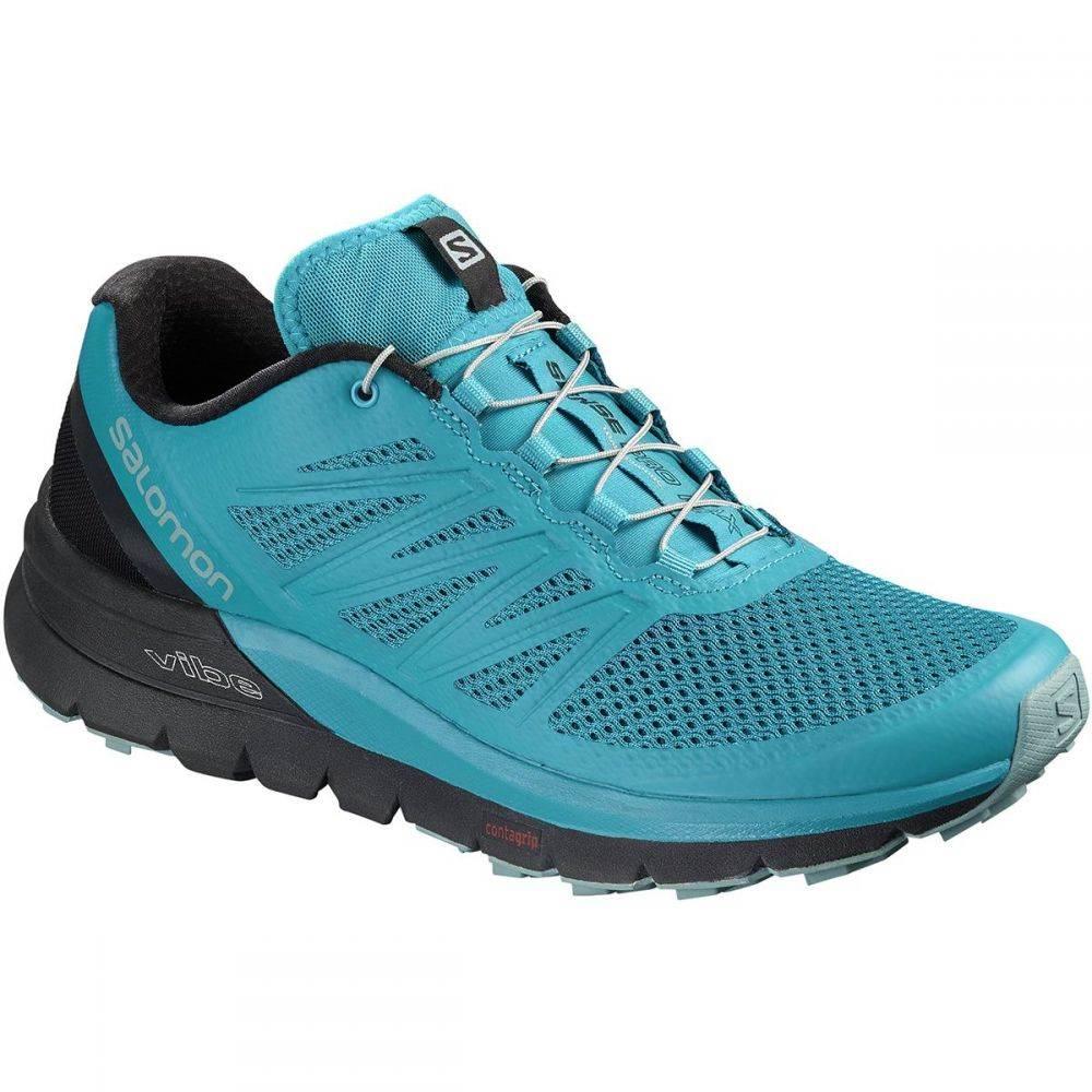 サロモン メンズ ランニング・ウォーキング シューズ・靴【Sense Pro Max Trail Running Shoes】Fjord Blue/Black/Lead