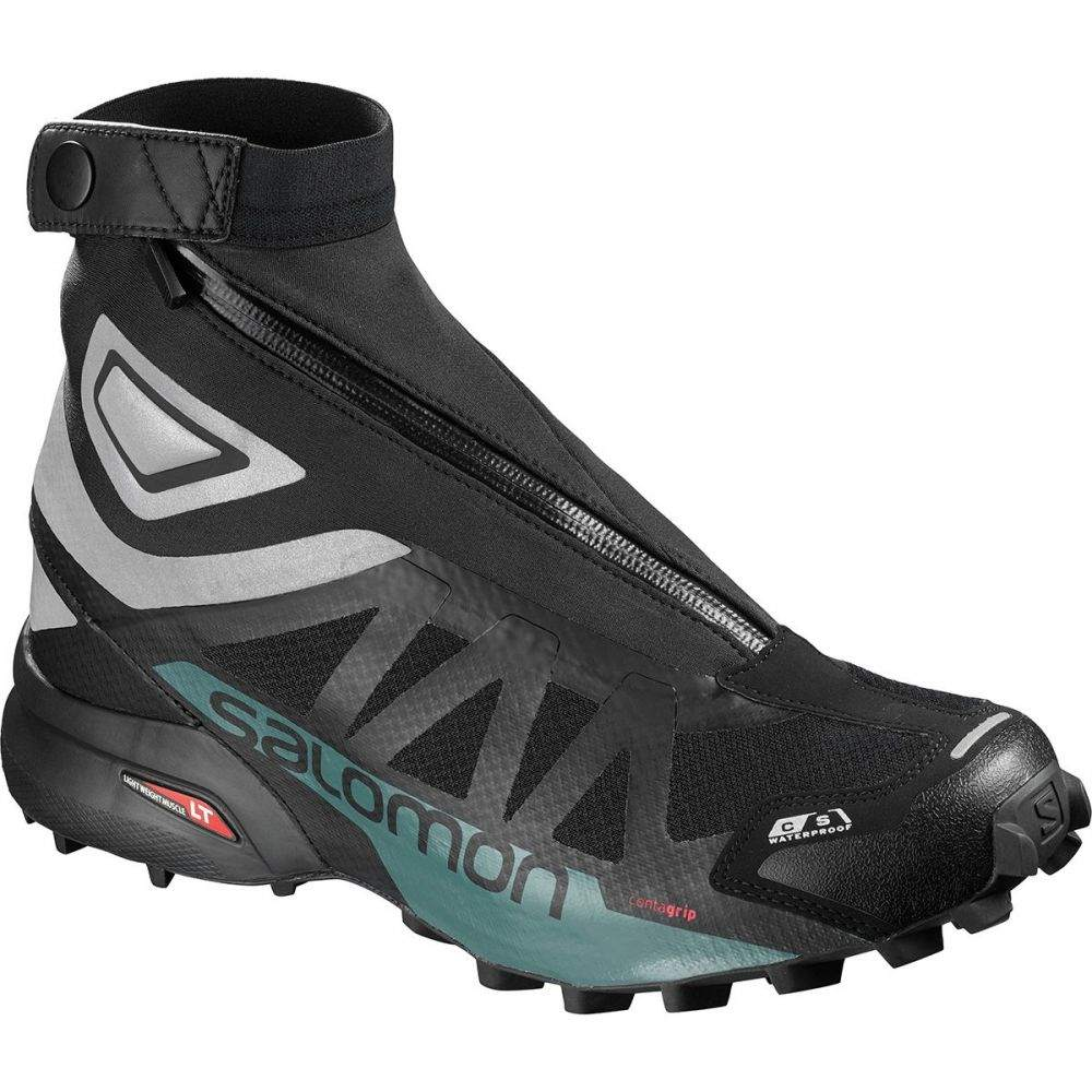 サロモン メンズ ランニング・ウォーキング シューズ・靴【Snowcross 2 CSWP Trail Running Shoes】Black/Reflective Silver/Mallard Blue