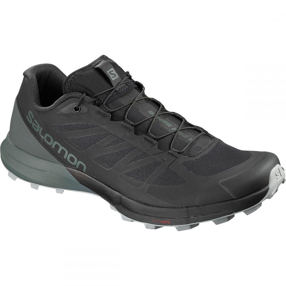 サロモン メンズ ランニング・ウォーキング シューズ・靴【Sense Pro 3 Trail Running Shoes】Black/Urban Chic/Monument