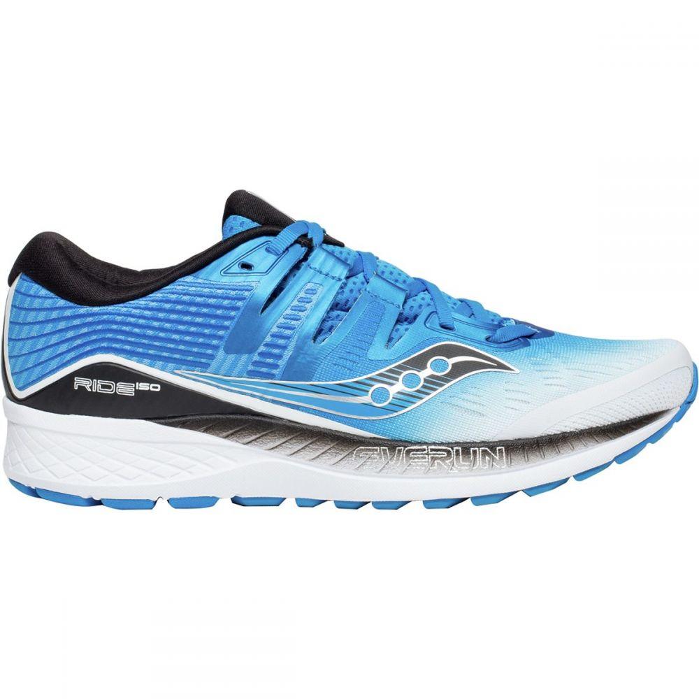 サッカニー メンズ ランニング・ウォーキング シューズ・靴【Ride Iso Running Shoes】White/Black/Blue
