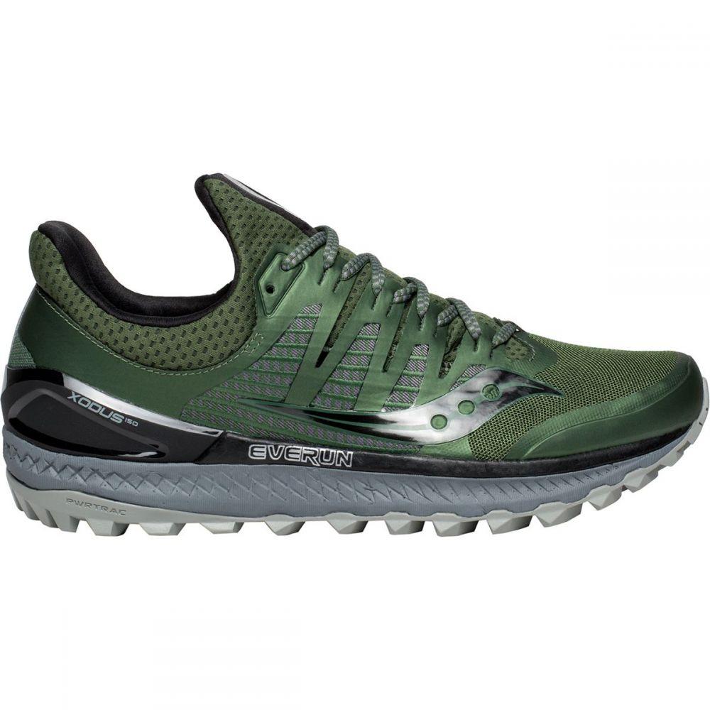 サッカニー メンズ ランニング・ウォーキング シューズ・靴【Xodus Iso 3 Trail Running Shoes】Olive/Black