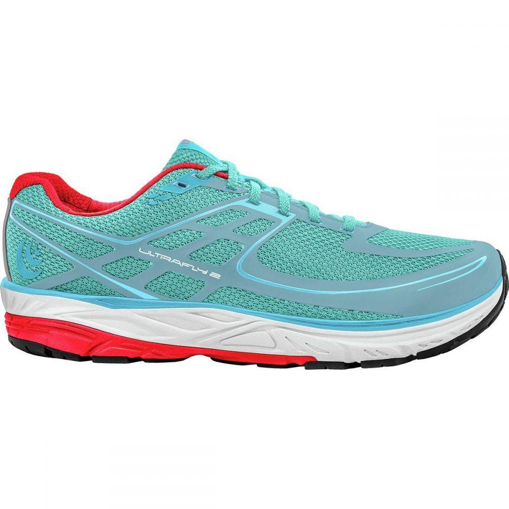トポ アスレチック レディース ランニング・ウォーキング シューズ・靴【Ultrafly 2 Running Shoe】Ice/Red