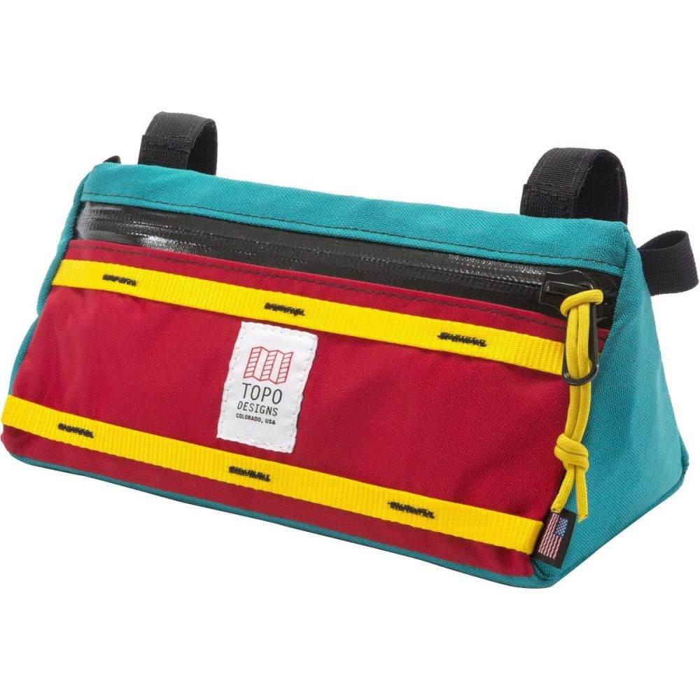トポ デザイン レディース 自転車【11L Bike Bag】Turquoise/Red