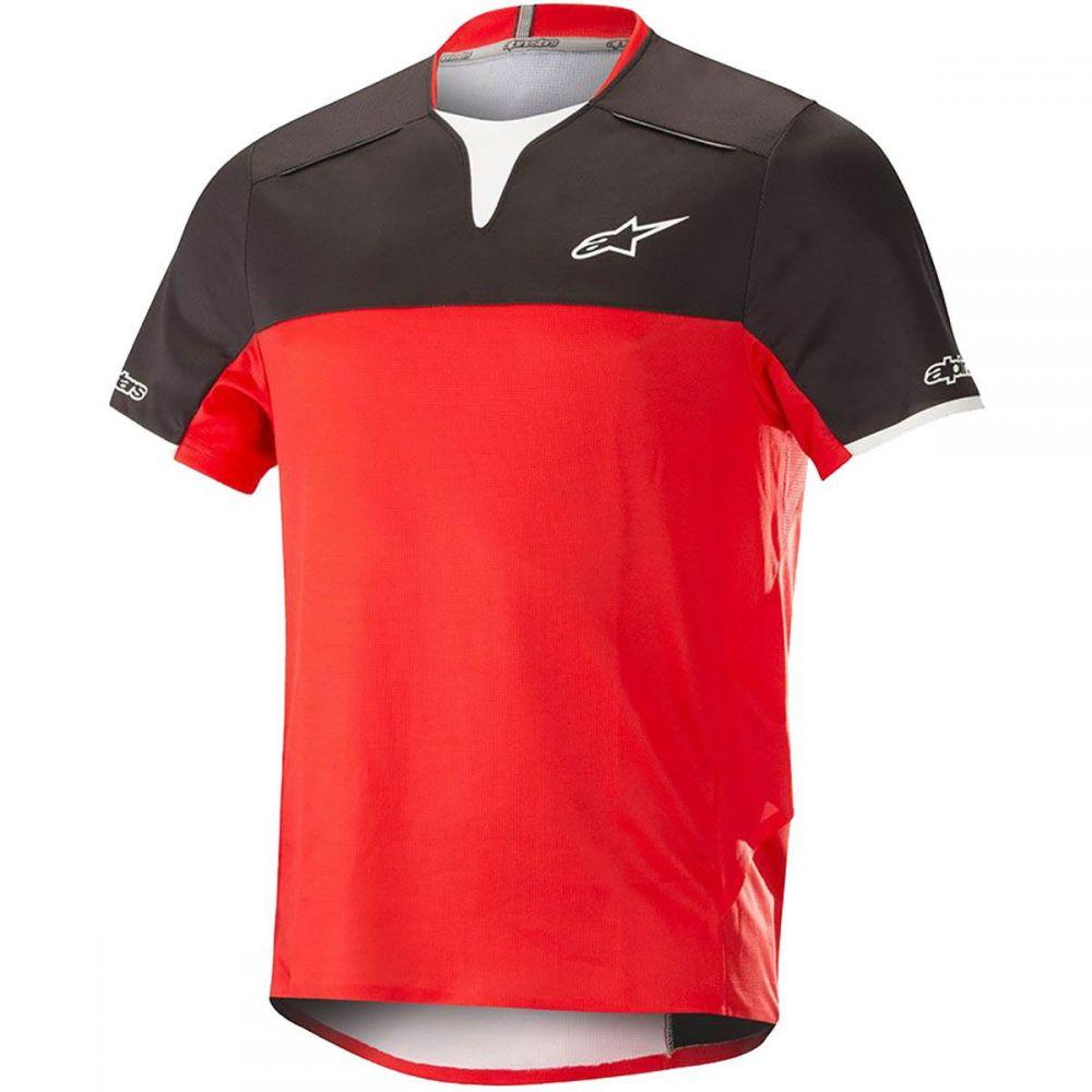 【返品交換不可】 アルパインスター - トップス【Drop メンズ 自転車 トップス【Drop Pro Short Short - Sleeve Jerseys】Black/Red, LOWBROW SPORTS:3815044d --- canoncity.azurewebsites.net