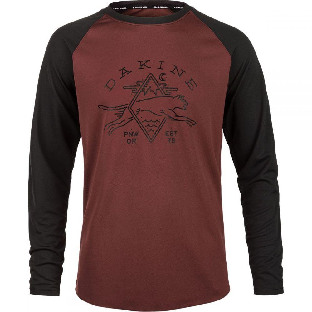 ダカイン メンズ 自転車 トップス【Dropout Jersey - Long Sleeves】Andorra/Black