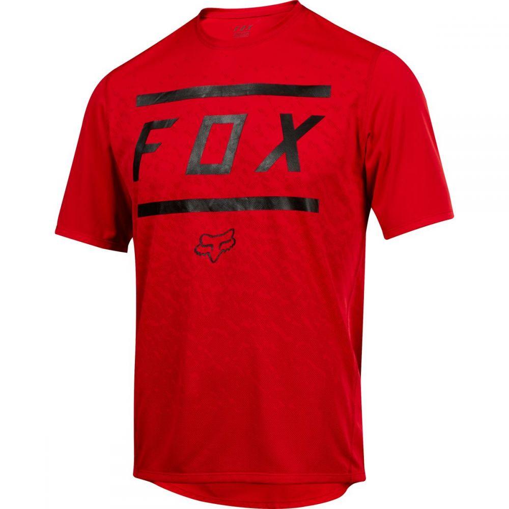 フォックス レーシング メンズ 自転車 トップス【Ranger Jerseys】Bars Bright Red