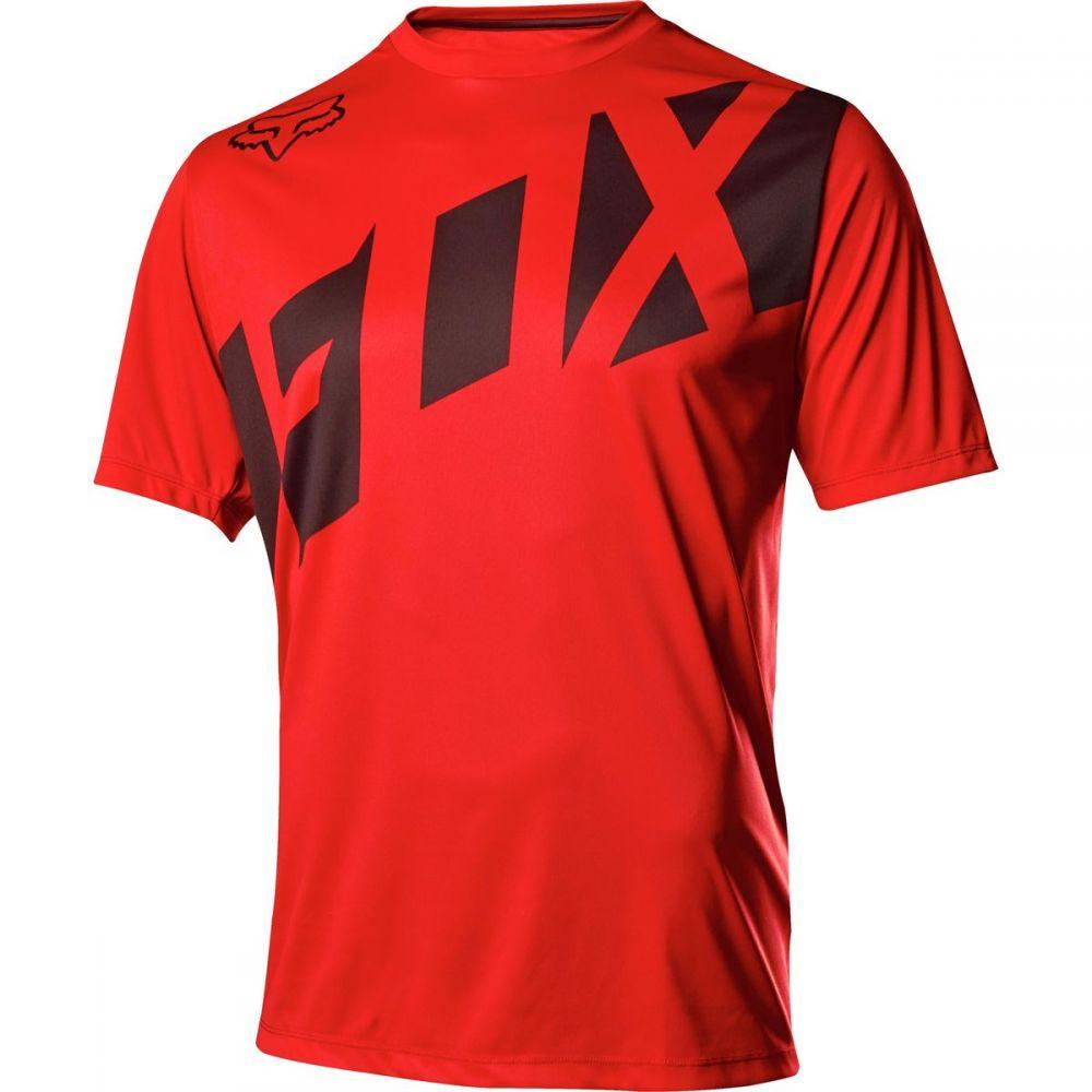 フォックス レーシング メンズ 自転車 トップス【Ranger Jerseys】Red/Black