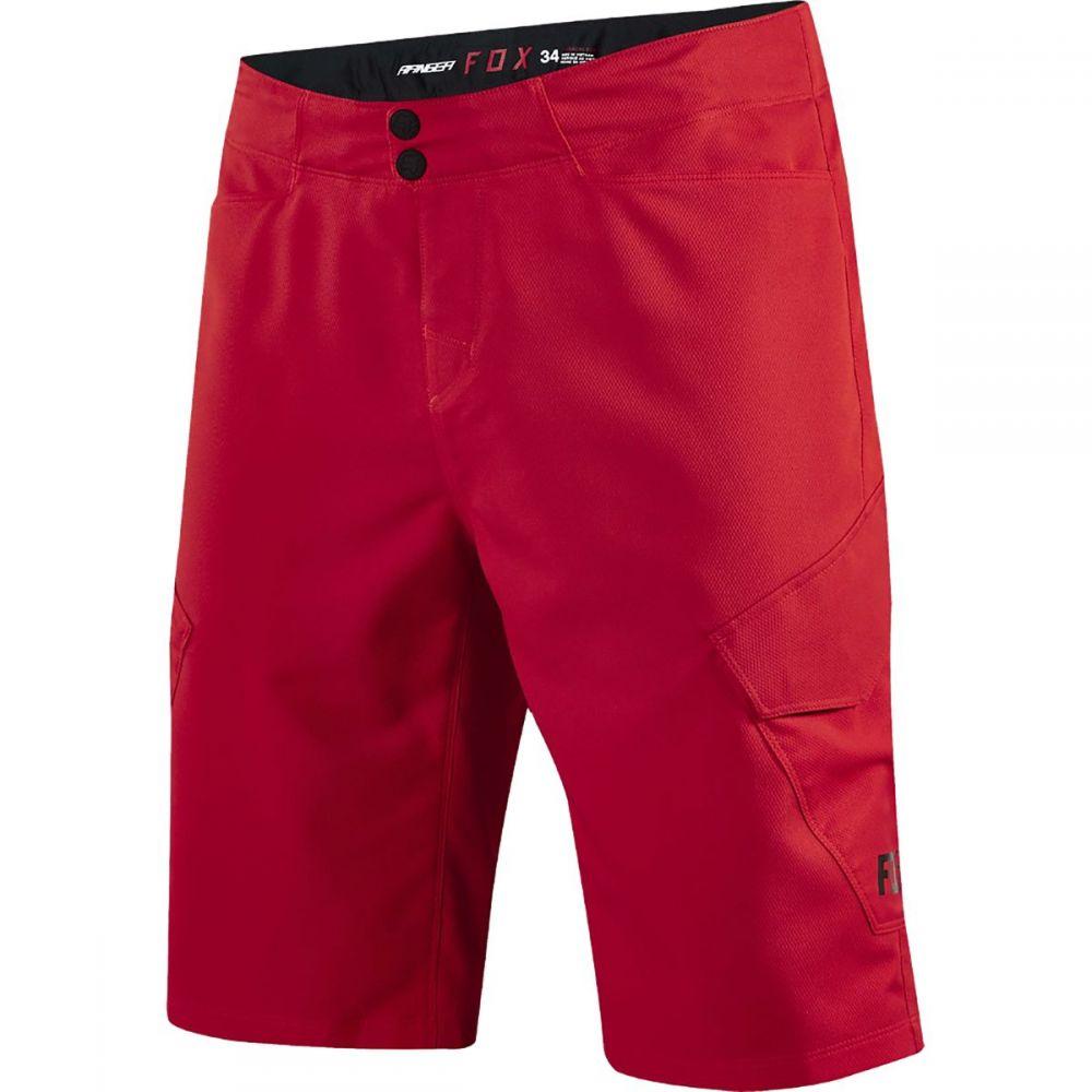 フォックス レーシング メンズ 自転車 ボトムス・パンツ【Ranger Cargo Shorts】Bright Red