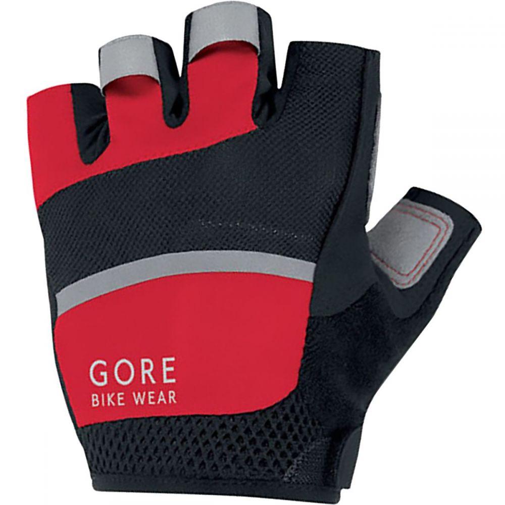 ゴアバイクウェア メンズ 自転車 グローブ【Oxygen Gloves】Black/Red