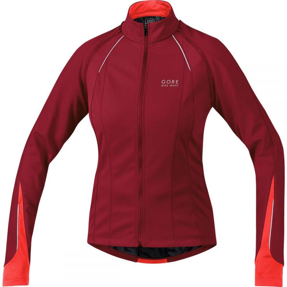 ゴアバイクウェア レディース 自転車 アウター【Phantom 2.0 SO Jacket】Ruby Red/Lumi Orange