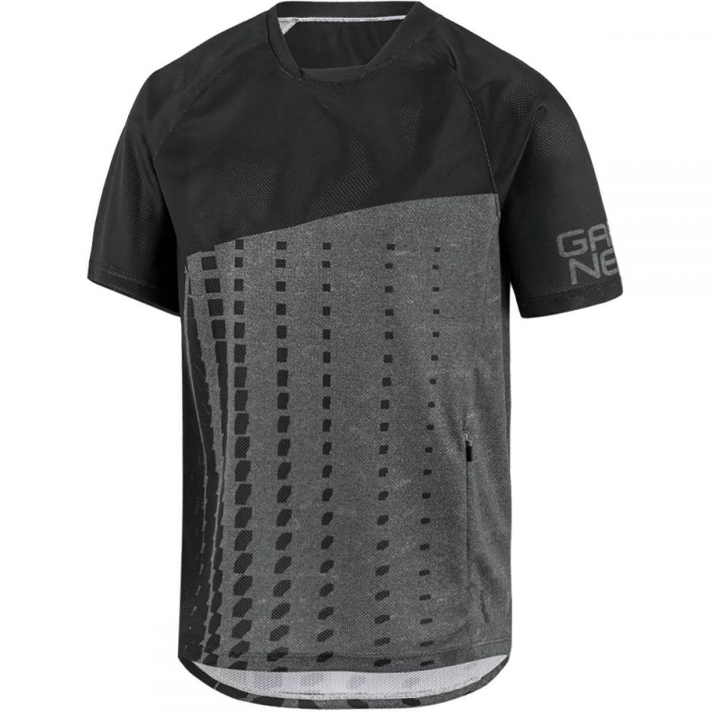 ルイガノ メンズ 自転車 トップス【Span Cycling Jersey - Short - Sleeves】Black/Heather Gray