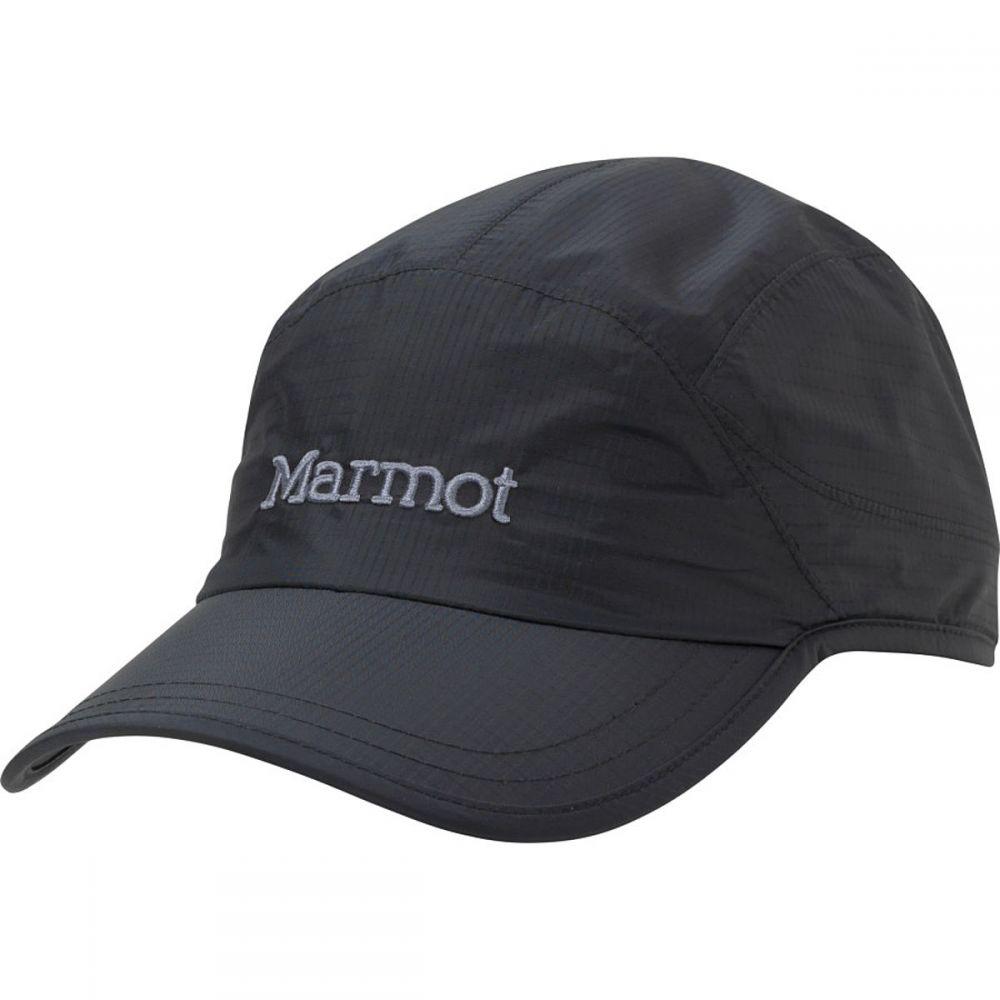 マーモット メンズ 帽子 キャップ【PreCip Baseball Hats】Black